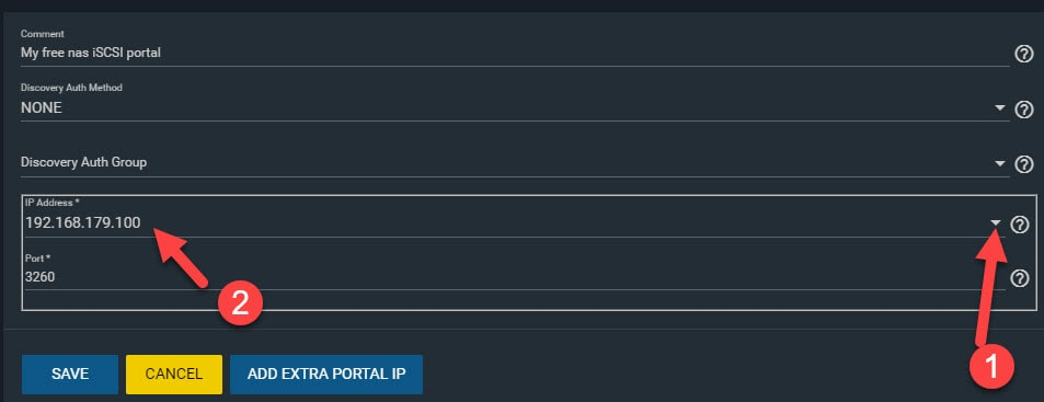 New Portal With IP Address