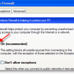 Disable Ping Reply, Enable File Sharing in Windows XP