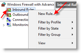 Enable Windows 7 Ping in Firewall