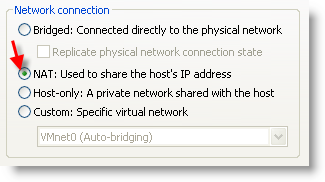 Internet Access Via Proxy Server VMware Guest Machine