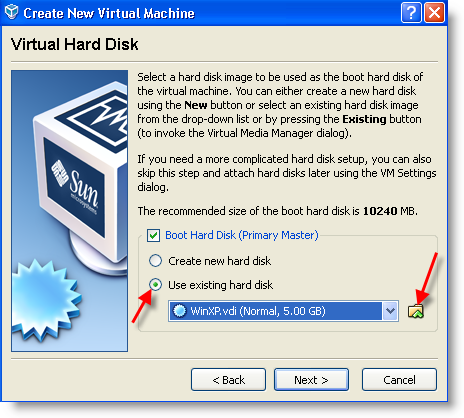 Physical to Virtual VirtualBox P2V