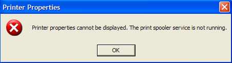 Print Spooler Keeps Stopping Automatically