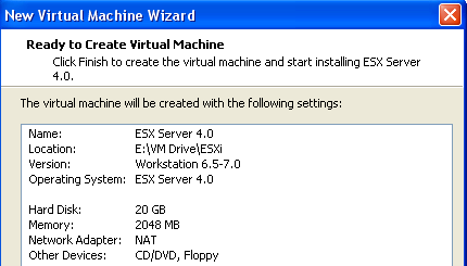 vSphere 4 on Windows 7