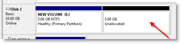 new-unallocated