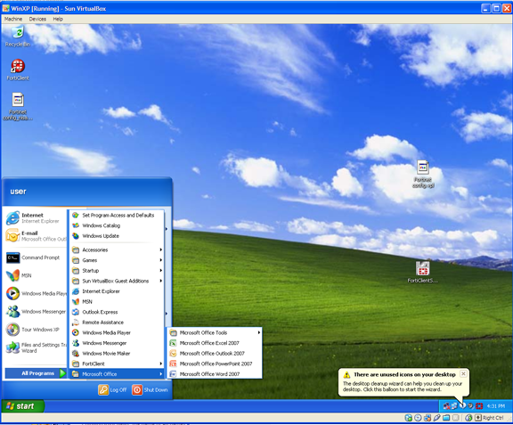 how to create a vdi for virtualbox