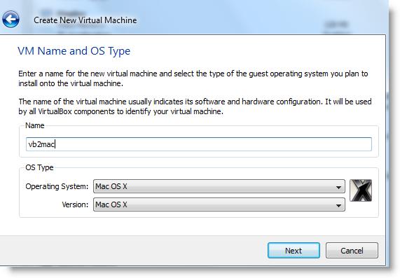 VM OS Type