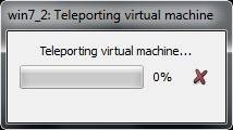 Test VirtualBox Teleportation Normal PC