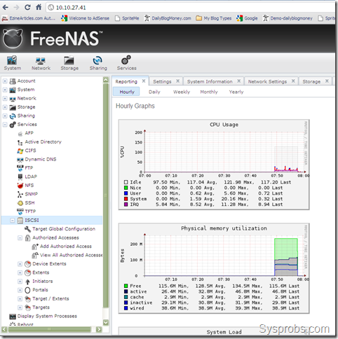 Install FreeNAS 0.8 on VirtualBox 4