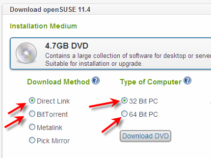 opensuse download