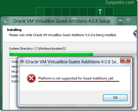 Virtualbox guest additions for windows 8