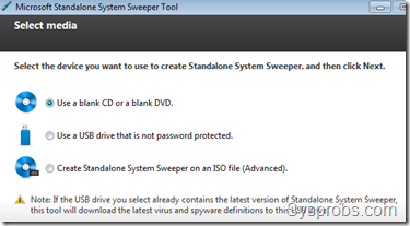 Create Bootable CD,USB or ISO