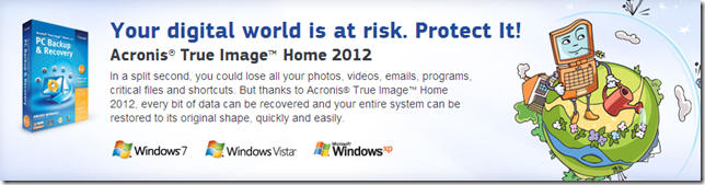 acronis home image 2012 discount code