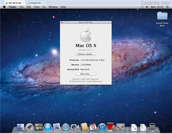 mac os x lion iso for windows