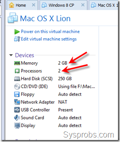 10.7.3 virtual machine settings
