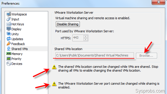 access machine from host