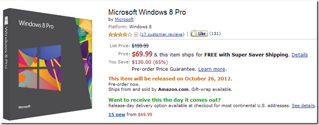 amazon windows 8 screen