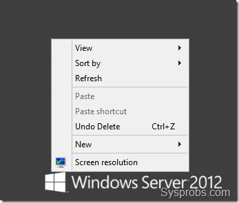 missing personalize option