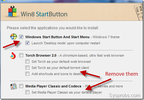 more options 2012 start menu