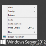 How to Show My Computer Icon on Windows 2012, R2 Server Desktop and Add Run to Windows Task Bar