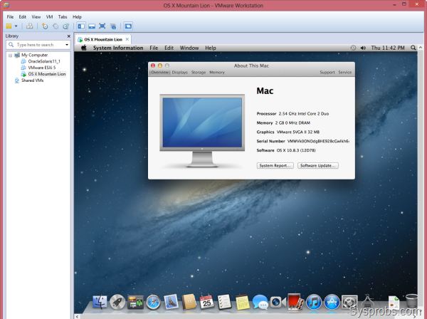 Mac OS X Mountain Lion - download in one click  Virus free