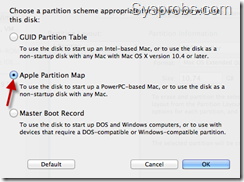 Apple partition map