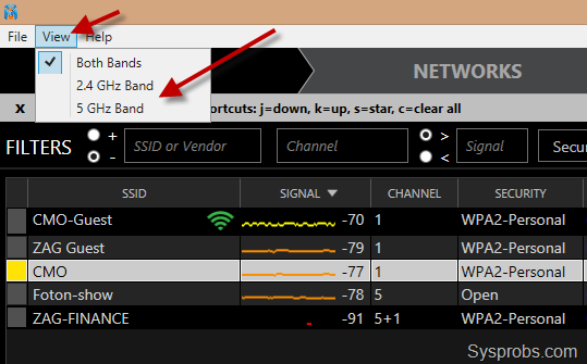 Network Stumbler for Windows 8 and 8.1, Easily Check The Windows 8, 8 ...