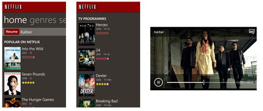 Netflix best paid apps Windows phone