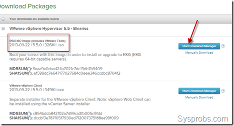 download vmware vspeher 5.5