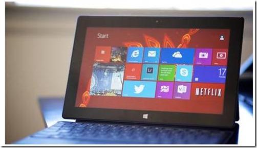 Windows 9 tablet
