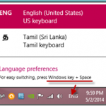 [Solid Fix] Windows 8, 8.1 and Windows 7 Language Bar Missing, How to Get It Back