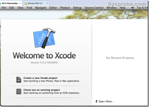 How to install Xcode 5 on Windows 7