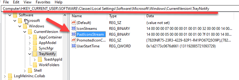 Registry Modification For Missing Volume Icon