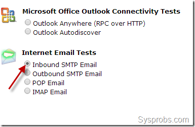 smtp inbound email check