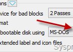 How to Create Bootable DOS USB Disk in Windows 8 or 8.1