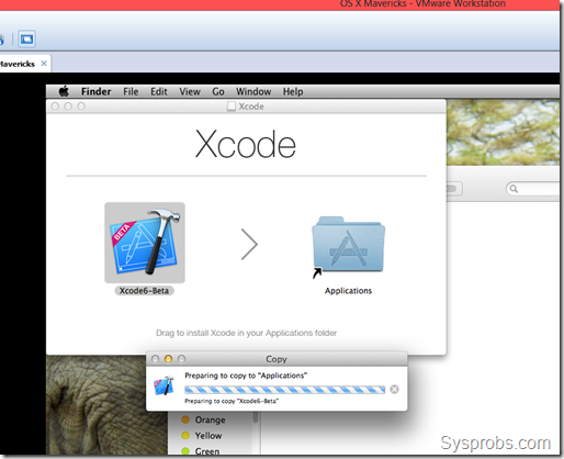 Install Xcode 6 on Windows 8