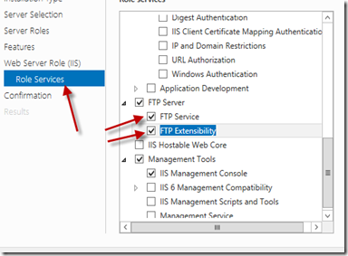 select ftp services
