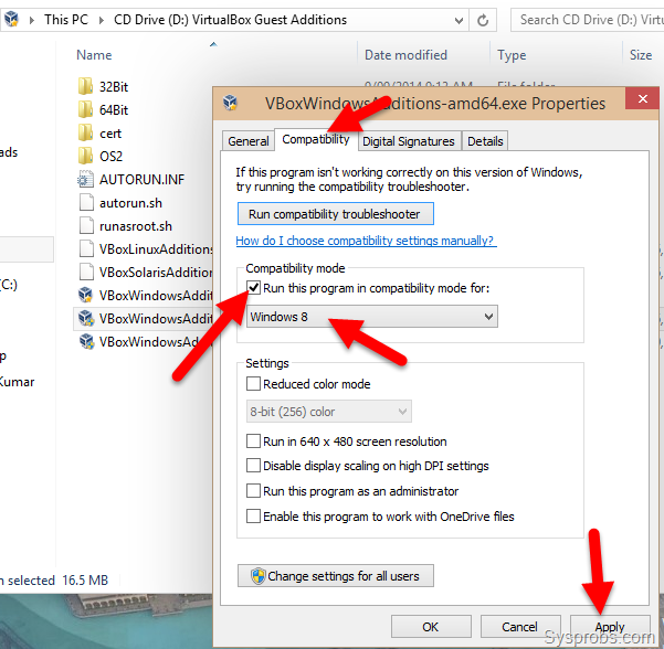 how to go to conv file on windows 10
