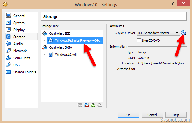 Install windows 10 on virtualbox and it s guest additions for Window 10 iso