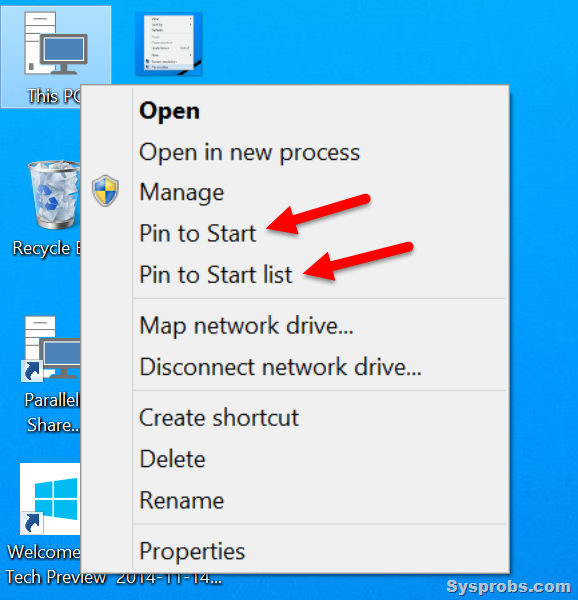 how to show  u0026quot my computer u0026quot   this pc  in windows 10  8 1  7