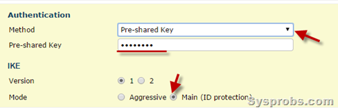preshared key