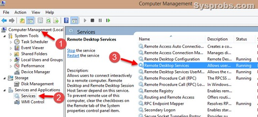 running rddp service in Windows 10