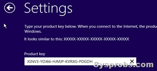 product key of Windows 10 server
