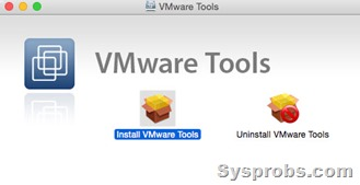 vmware tools for yosemite 10.10.3