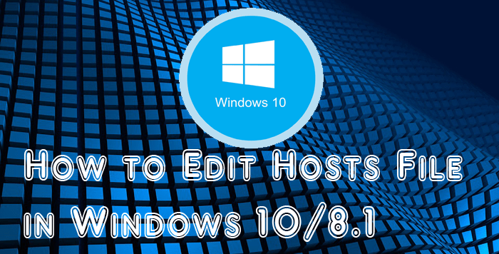 Edit Hosts File