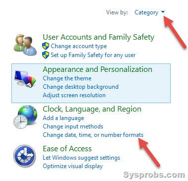 Change 24 hour clock to 12 hour clock in windows 10 8 1 and 7 for 12 hour window birth control