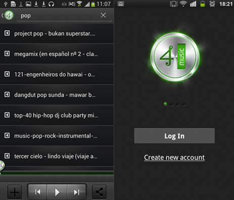 4shared free music downloads for android