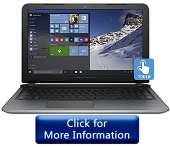 HP Pavilion 15t – Touch Screen Gaming Laptop