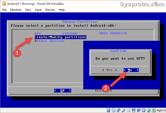 centos 6 how to create gpt partition