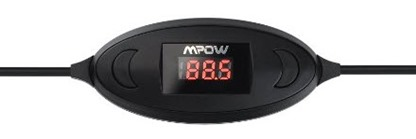 Mpow Streambot Oval FM Transmitter for iPhone 6s