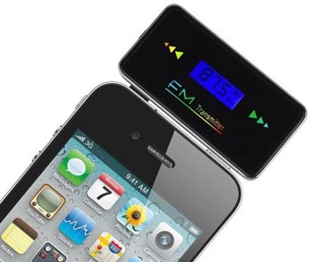 Plug Foldable FM Transmitter best for iPhone 6